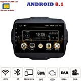 ANDROID 8.1 FULL-TOUCH 9 POLLICI 4G LTE GPS USB DAB+ WI-FI MirrorLink Bluetooth autoradio navigatore Jeep Renegade 2014 2015 2016 2017 2018
