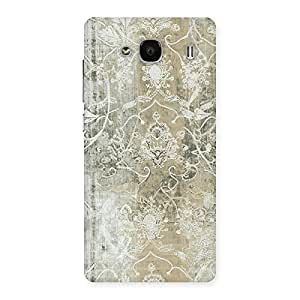 Neo World Beige Pattern Texture Back Case Cover for Redmi 2
