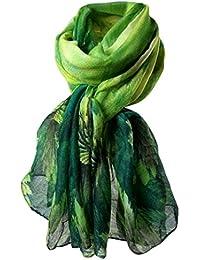 HUHU833 Écharpes châle foulards Femmes mode impression longue écharpe châle  ... c312d731b0d