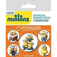 Minions Pack 5 Chapas