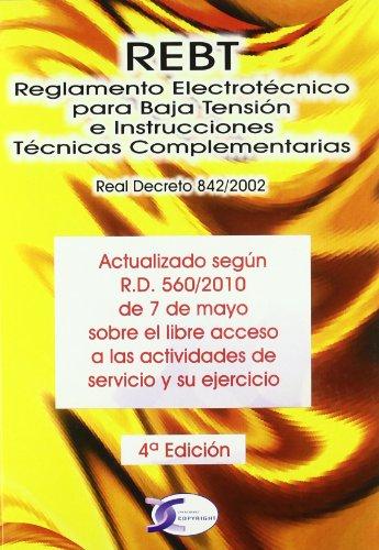 REBT, Reglamento Electrotécnico para Baja Tensión e Instrucciones Técnicas Complementarias
