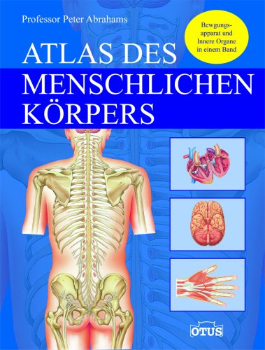 Atlas des menschlichen Körpers (Anatomie Skelett Atlas)