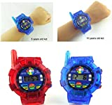 HATCHMATIC Children' s Radio Radio Spy Wrist Watch Walkie Talkie Kids Electronics Gadget
