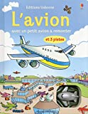 Livres avec jouet à remonter : L'avion