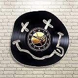 Syhua Odora di Spirito Adolescenziale Orologio da Parete in Vinile Art Gift Room Modern Home Record Decorazione Vintage Orologio da Parete