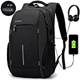 Laptop Backpack Rucksack Asltoy 17.3 inch Notebook Business Backpack Large Capacity TSA Lock