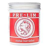 PRE-LIM Burishing crema cuchillo espada para aspiradora metal diseño de madera envejecida para aspiradora crema a base de 200 ml (200 ml)