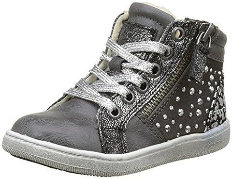 Tom Tailor 3772710, Baskets Hautes Fille, Gris (Grey), 28 EU