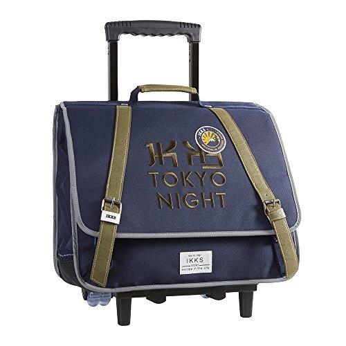 IKKS Backpacker in Tokyo Cartable, 44 cm, Bleu