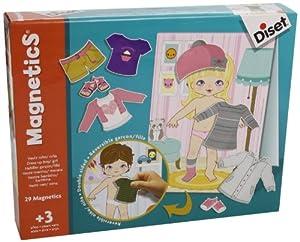 Diset - Magnetics vestir niño/niña (63246) de Diset