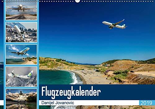 Flugzeugkalender 2019AT-Version (Wandkalender 2019 DIN A2 quer): Der Kalender für Fans der Luftfahrt (Monatskalender, 14 Seiten ) (CALVENDO Orte) - Luftfahrt-kalender