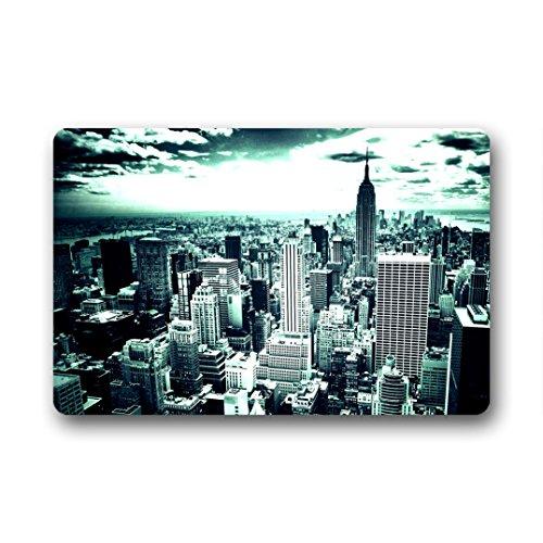 Dongmen custom paesaggio di new york guarnizione in gomma nonslip doormat interno/esterno 59.9cmx39.8cm
