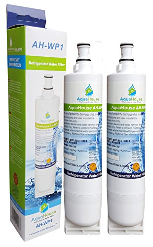 2x AH-WP1 filtre à eau compatible pour Whirlpool réfrigérateur SBS002, 4396508, 481281729632, 461950271171, S20BRS, SBS003