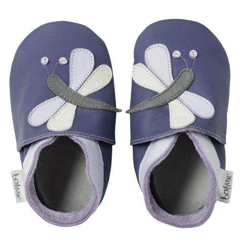 Bobux - BB 4172 - Chaussure Bébé - Libellule Mauve Violet (Purple)