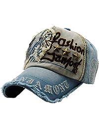 ca0677ee027a2 i-select algodón Gorra de béisbol Gorro Tapas Bordado Patch Unisex