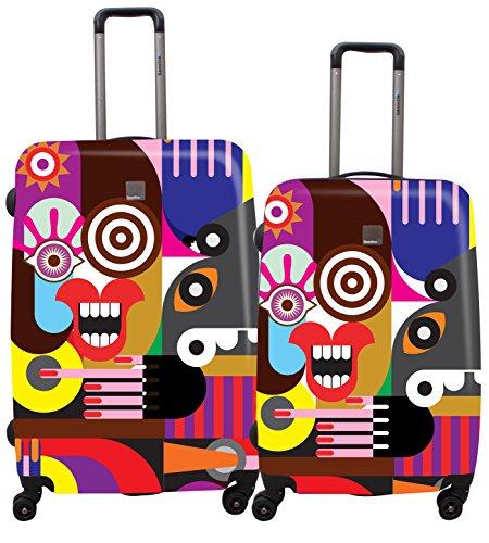 Saxoline Blue Juego de maletas, multicolor (Varios colores) – B06HC.14.09