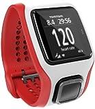 Montre GPS TomTom Multi-Sport Cardio Blanc/Rouge  (1RH0.001.03)