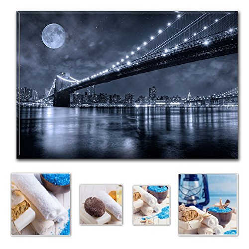 lumire-eco-art-mural-sur-toile-bundle-derrire-pont-de-brooklyn-80x-1199cm-pour-dcoration-intrieure-e