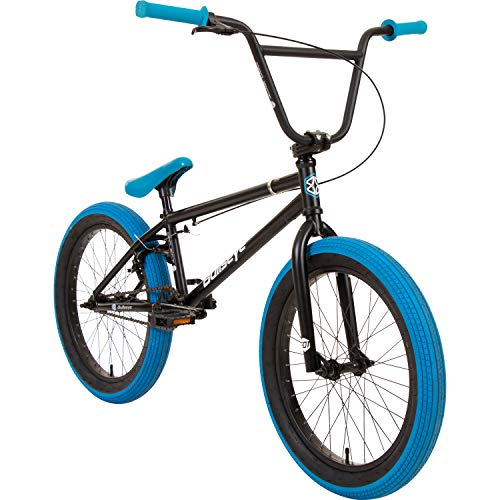 Bullseye Projekt 501 BMX 20 Zoll Park Freestyle Bike Fahrrad (Schwarz/Blau)