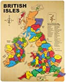 Bigjigs Wooden British Isles Puzzle