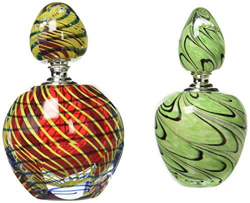 Dale Spiegel (Dale Tiffany 2-teilig Swirl Parfüm Flasche Set)
