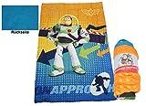 Disney Toy Story Kinder Bettdecke Microfaser Kuscheldecke Babydecke mit Buzz Lightyear Motiv 135x200 cm