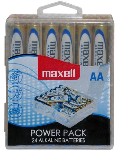 Maxell LR6 AA Mignon Alkaline Batterien (24er Powerpack)