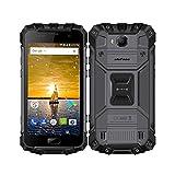 uleFone Armor 2 4G Oudoor Smartphone Ohne Vertrag- 5.0 Zoll FHD,Android 7.0 Octa-Core 6GB RAM+64GB ROM, 16.0MP Kamera 4700mAh Akku IP68 Schnellladung Fingerabdruck NFC GPS,IP68 Wasserdichte Handy