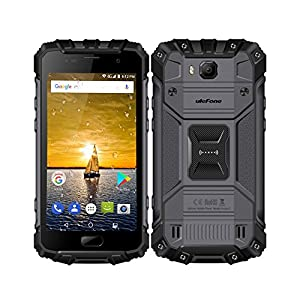 UleFone Armor 2 IP68 Waterproof Smartphone 4G 5.0inch FHD Android 7.0 Helio P25 Octa-core 2.6GHz 6GB RAM 64GB ROM 16.0MP+8.0MP Camera 4700mAh Battery Quick Charge Fingerprint NFC WiFi GPS HiFi Phone