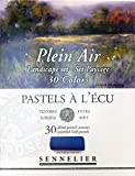 Boîte de 30 demi-pastels tendres'à l'écu' - sélection Plein Air Paysage