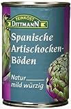 Feinkost Dittmann Artischockenböden natur, mild-würzig 5/7 Stücke, 3er Pack (3 x 390 g)