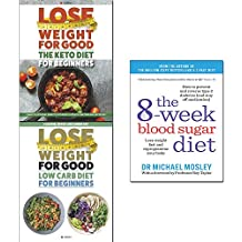8-Week blood sugar diet, low carb diet, keto diet 3 books collection set