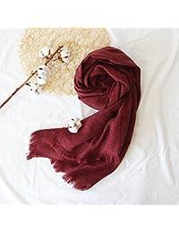 0d2911b15274 DEED Écharpe-Femme Hiver écharpe épaisse écharpe en Tricot écharpe Longue châle  All-Match