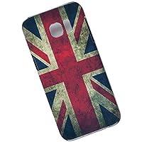 Samsung Galaxy S7 Edge Protective Slim Case. Tasche Cover. Union Jack. Flag of the United Kingdom. UK Flag.