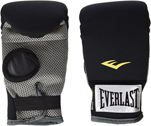 Everlast Erwachsene Boxartikel 433 Neoprene Heavy Bag Gloves, Black, 0, 057271 03005