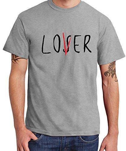 -- Losers / Lovers Club -- Boys T-Shirt Sports Grey, Größe (Kind $100 Kostüme Bill)