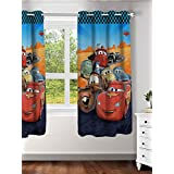 Disney- Athom Trendz- Cars- Kids Curtain- Single Piece (Window)