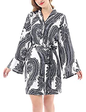Yulee Womens Kimono corto accappatoio