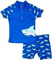 Playshoes UV Protection Bath Set Shark Ropa de natación con protección Solar, Niños