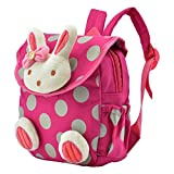 Cozyswan 3D Cute Animal Design Children Toddler School Bag Backpack