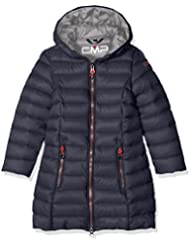 CMP - Abrigo de plumas para niña, otoño/invierno, niña, color Asphalt/Argento, tamaño 12 años (152 cm)