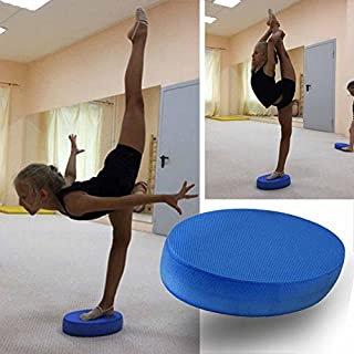Ainstsk Yoga Knee Pad, Premium Foam Balance Pad - Tear & Waterproof Wobble Board Cushion for Strength Training, Physical Therapy & Lower Back/Knee Pain | Balancing Trainer Equipment (18 * 31 * 6cm)