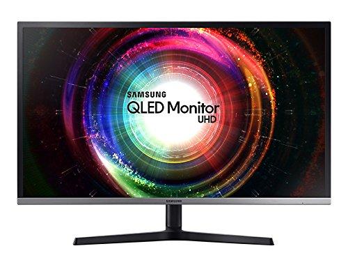 Samsung LU32H850UMUXEN 32-Inch UHD 4K Gaming Monitor - Black/Silver