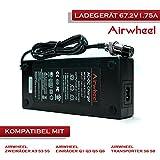 AIRWHEEL Akku-Ladegerät 67.2V 1.75A Batterieladegerät für E-Scooter Elektroroller und alle 67.2V Li-Ionen-Akku