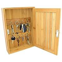 Sei stanco di perdere le chiavi? Non le perderai più con questo armadietto in bambù porta chiavi ecologico. Montaggio a parete (accessori inclusi), sarà sufficiente per tenere tutti i tuoi mazzi di chiavi sui suoi 8ganci. Mettetelo accanto alla vost...