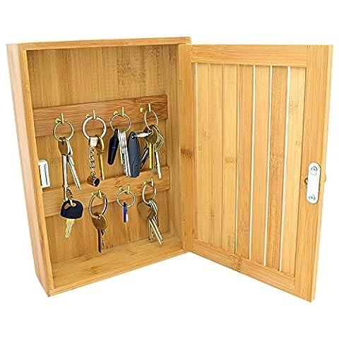 Armoire Murale Bois - Top Home Solutions Boîte à clés mural