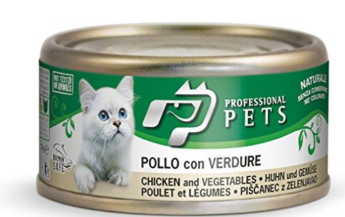 pollo con verdure umido per gatti 24 scatolette