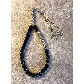 isimli tesbih, glass perlen, tesbih, geschenkidee für männer, personalisierte geschenke