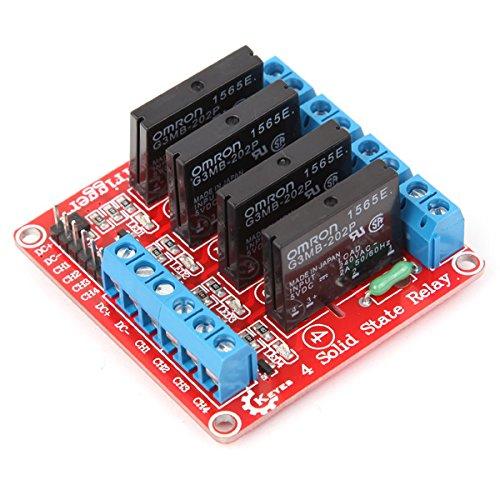 Preisvergleich Produktbild Bluelover Vierweg-Halbleiterrelais-Modul Für Arduino