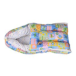 Orange And Orchid 3 In 1 Baby Bed Cum Bedding Set/ Baby Carrier/ Sleeping Bag...